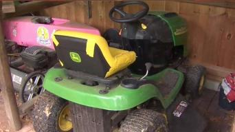 Mom Warns About Lawnmower Accidents