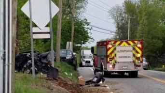 Serious Crash Closes Route 44 in Ashford