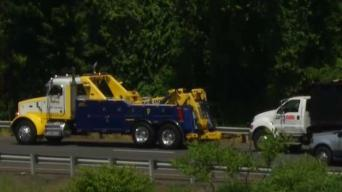 Truck Rollover Causing Delays on I-84 West in Plainville