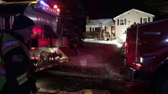 1 Firefighter Injured Responding to Tolland Fire