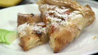 Native Winter Squash and Apple Phyllo Pie