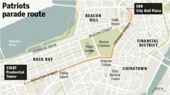 New England Patriots' Boston Victory Parade Postponed