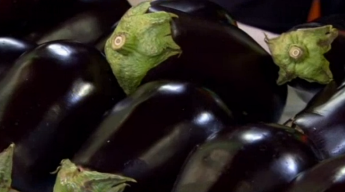 Native Eggplant with Cherry Tomatoes and Basil