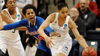 UConn Tops Brooklyn 89-33 in NCAA Tournament