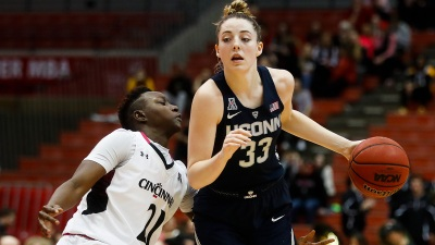 UConn Streak Hits 98 With Win Over Cincinnati