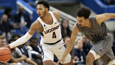 UConn Survives Monmouth in Overtime