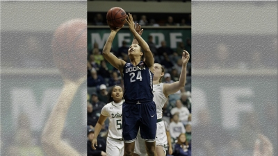 Collier has 4th Double-Double, No. 1 UConn Routs USF 100-49