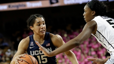 Samuelson Helps No. 1 UConn Beat Central Florida 55-37