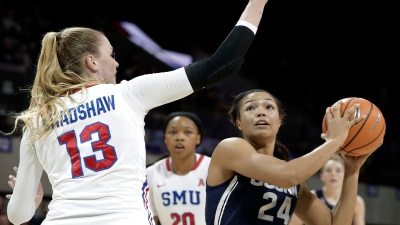 Samuelson, UConn Recover From Slow Start to Rout SMU