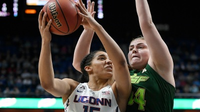 Williams Returns, No. 1 UConn Tops S. Florida for AAC Title