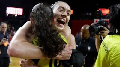 Stewart, Storm Surge Past Mystics to Win WNBA Title