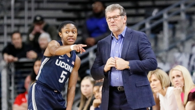 UConn Falls to 5th in Latest AP Poll