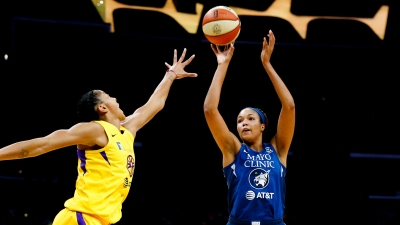 Collier Named WNBA Rookie of the Year