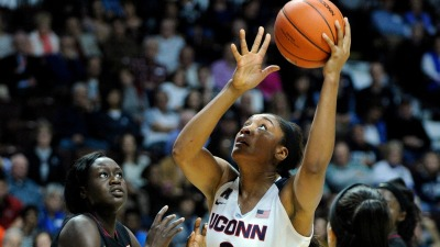 Tuck and Stewart Lead No. 1 UConn Win Over Florida State