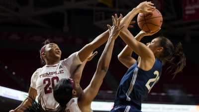 Collier, Dangerfield Lead No. 2 UConn Past Temple 88-67