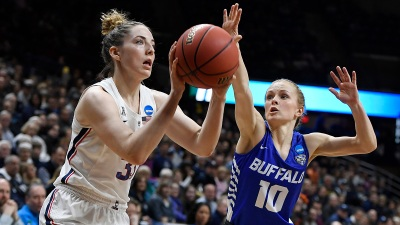 UConn Holds Off Buffalo for 26th Straight Trip to Sweet 16