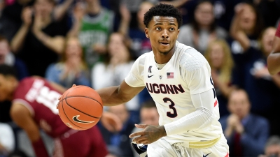 UConn's Gilbert Sidelined Again, This Time With Eye Injury