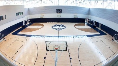 New UConn Practice Gym Close to Finished