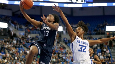 Collier Leads No. 1 UConn to Easy Win Over Saint Louis