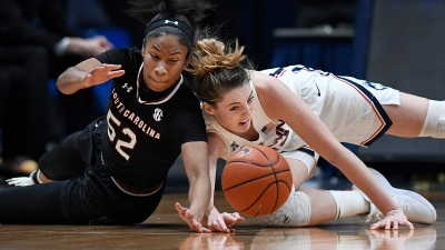 Collier, Samuelson Help UConn Beat South Carolina 97-79