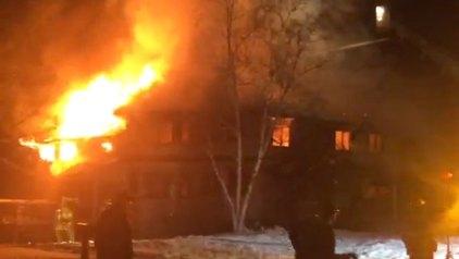 Fire Rips Through Avon Home