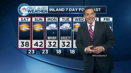 NBC Connecticut Meteorologist Darren Sweeney has your First Alert forecast.