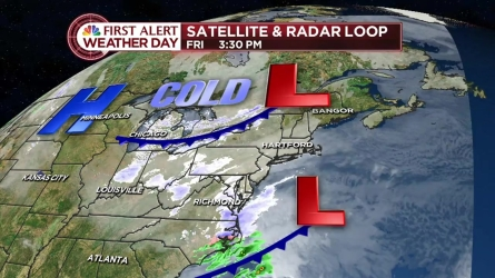 NBC Connecticut Chief Metrorolgist Brad Field provides the evening forecast for February 12, 2016.