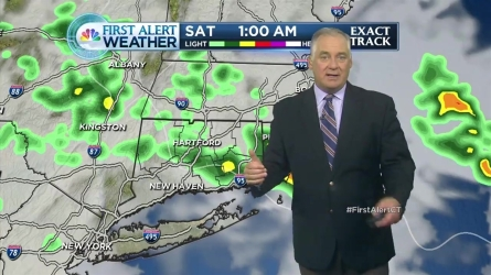 Get the morning forecast from NBC Connecticut meteorologist Bob Maxon.