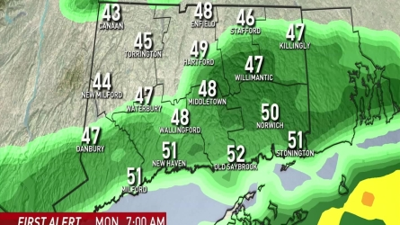 NBC Meteorologist Darren Sweeney has the evening weather forecast for October 22th,2016