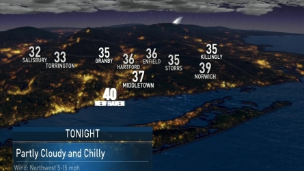 NBC Chief Meteorologist Brad Field has the evening weather forecast of October 24th,2016