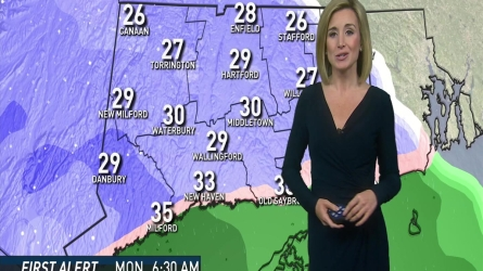 NBC Meteorologist Kaitlyn Mcgrath  has the evening weather forecast of December 03th,2016