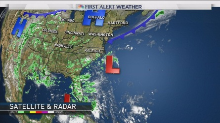 NBC Chief Meteorologist Brad Field has the evening weather forecast for August 29th2016