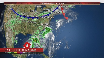 NBC Chief Meteorologist Brad Field has the evening weather forecast for August 31th2016