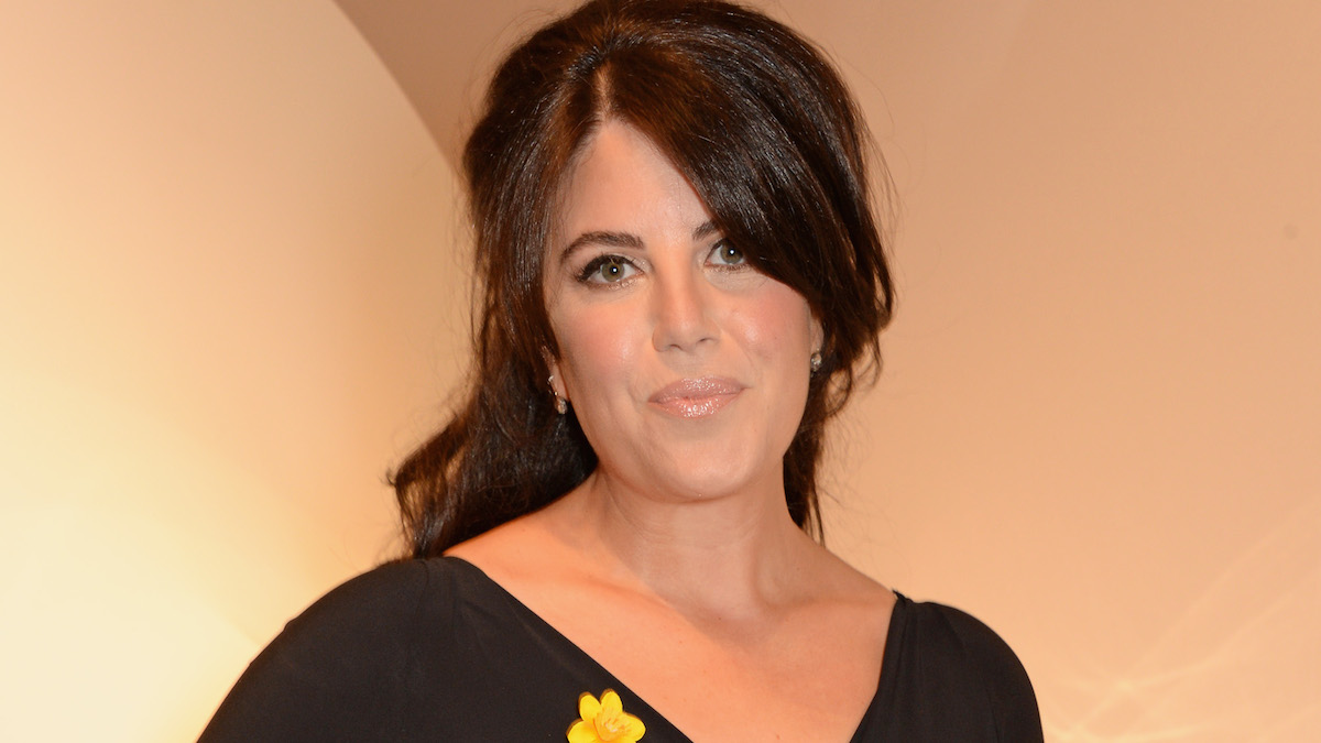 File - Monica Lewinsky arrives at The Masterpiece Marie Curie Party supported by Jaeger-LeCoultre and hosted by Heather Kerzner at The Royal Hospital Chelsea on June 30, 2014 in London, England.