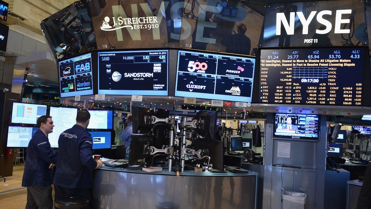 Stock photo of the New York Stock Exchange