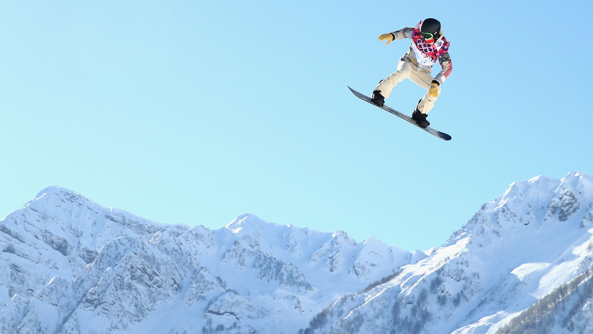 Shaun White will go for his third Olympic halfpipe gold at the Sochi Games.