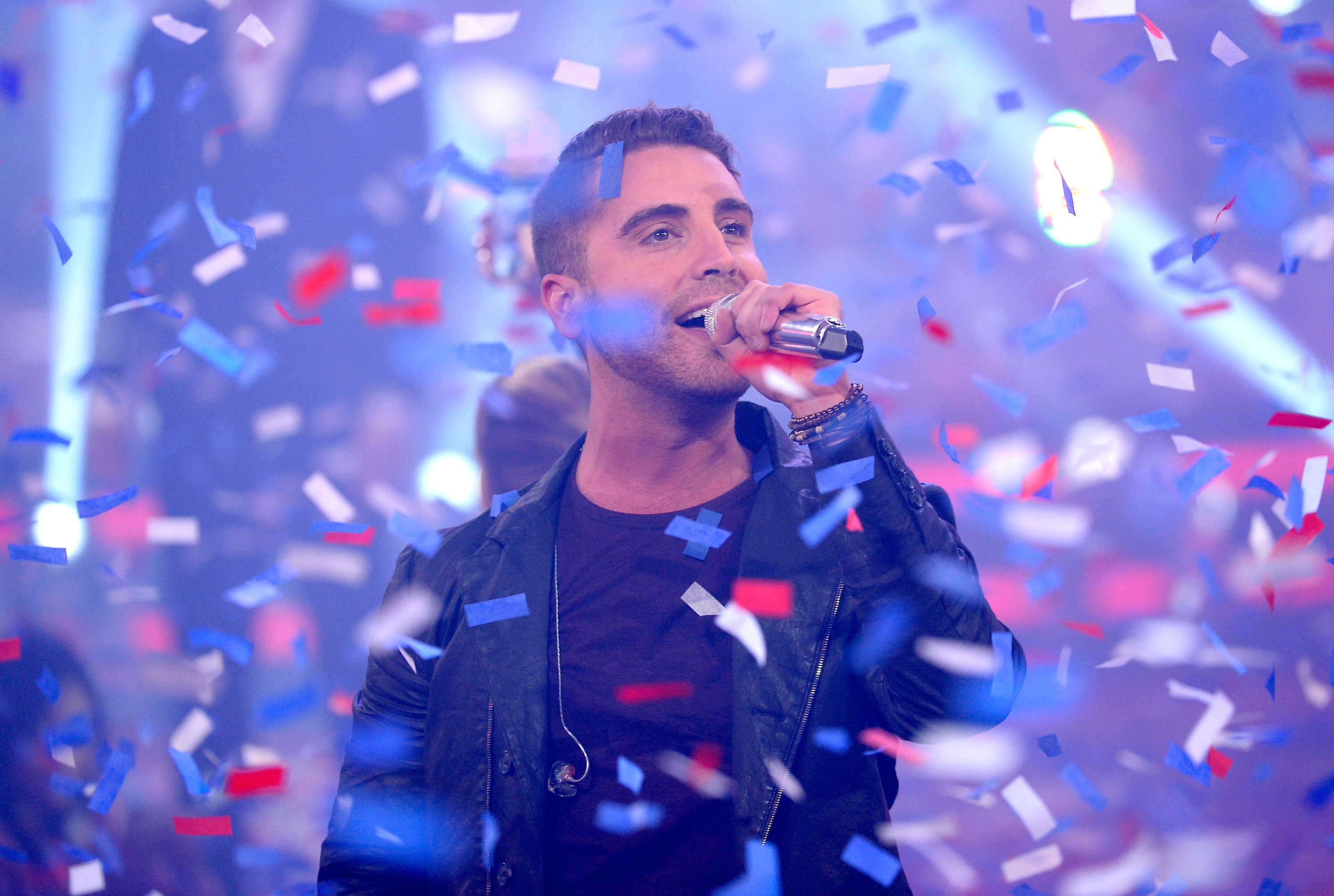 HOLLYWOOD, CA - MAY 13:  Winner Nick Fradiani performs onstage during