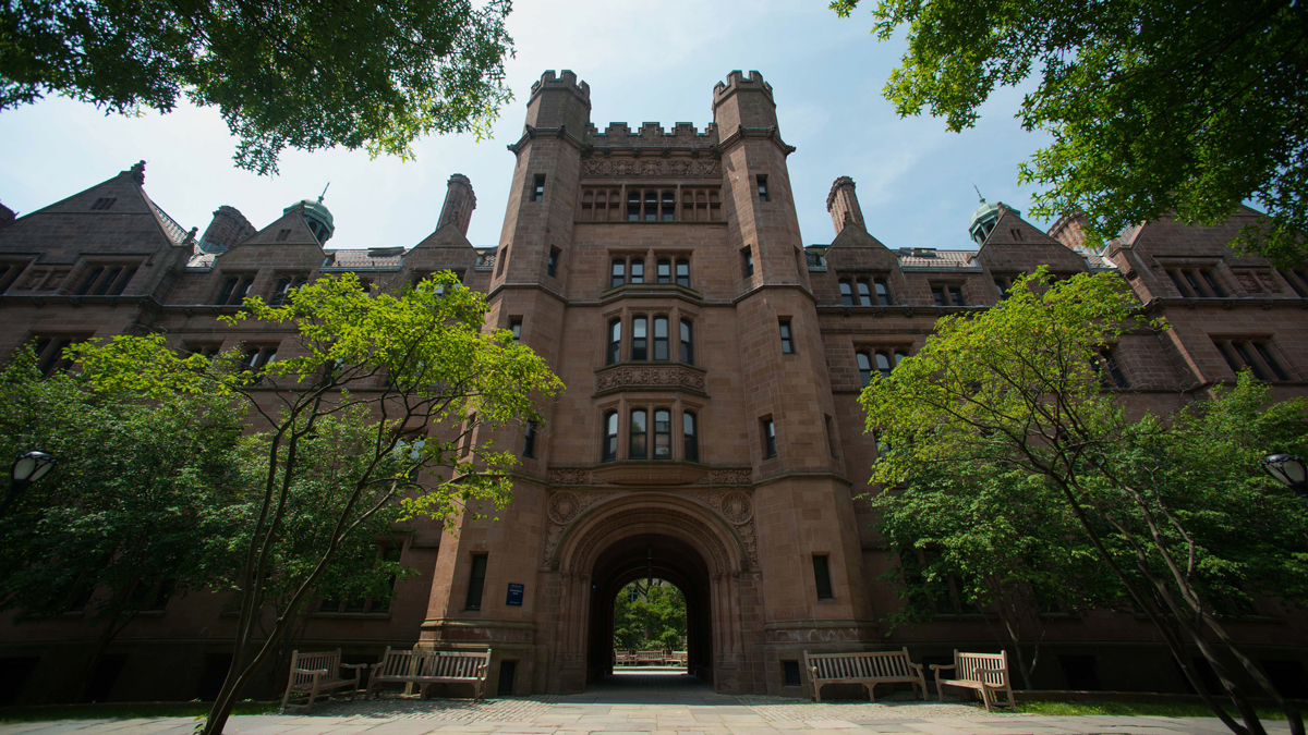 Vanderbilt Hall stands on the Yale University campus in New Haven, Connecticut, U.S., on Friday, June 12, 2015.