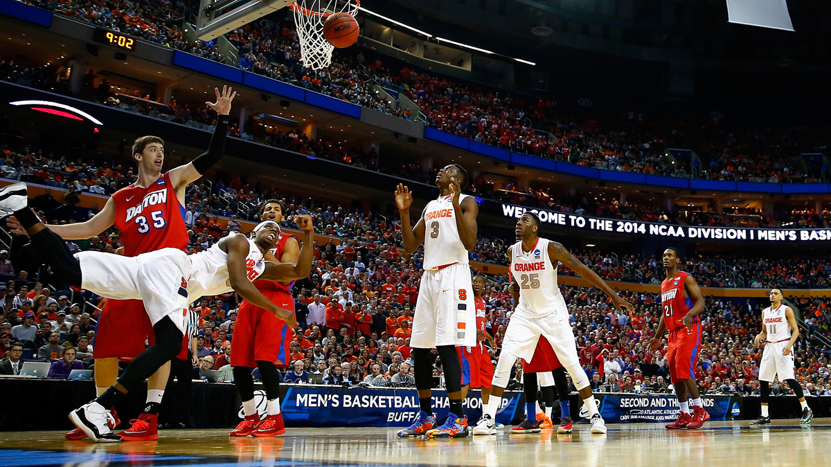 It wasn't until Dayton beat Syracuse, the former No. 1 team in the country, 55-53 that Binder's bracket took a dive. After that, no perfect brackets remained.