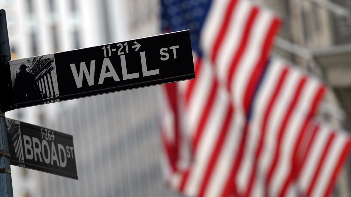 Wall Street in New York, NY.