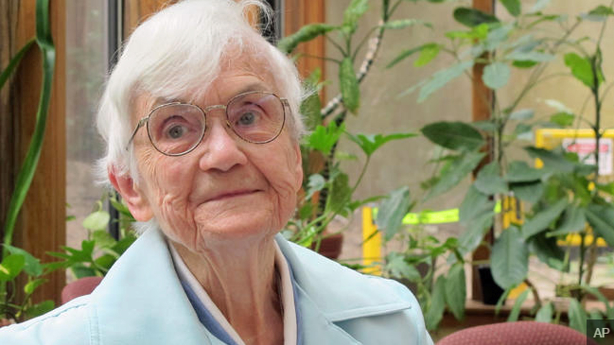 Sister Angela Rooney, 98, a Roman Catholic nun, is getting care at the Jewish Home Lifecare in the Bronx.