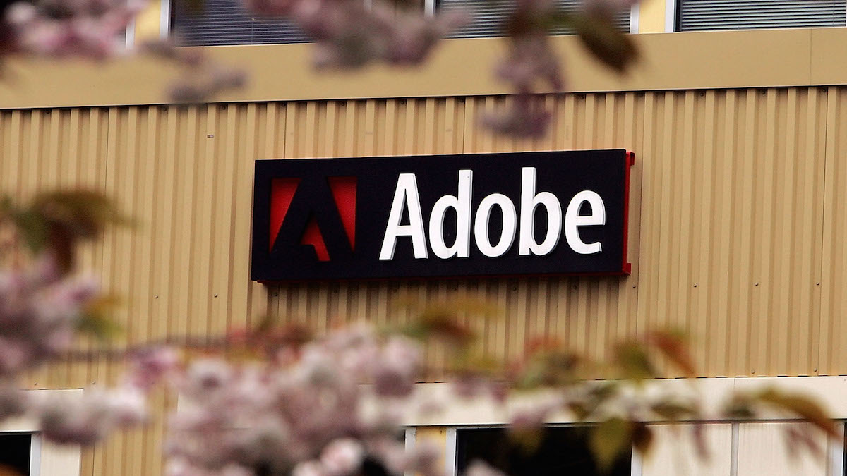 In this file photo, Adobe System's Freemont offices are seen April 18, 2005 in Seattle, Washington.