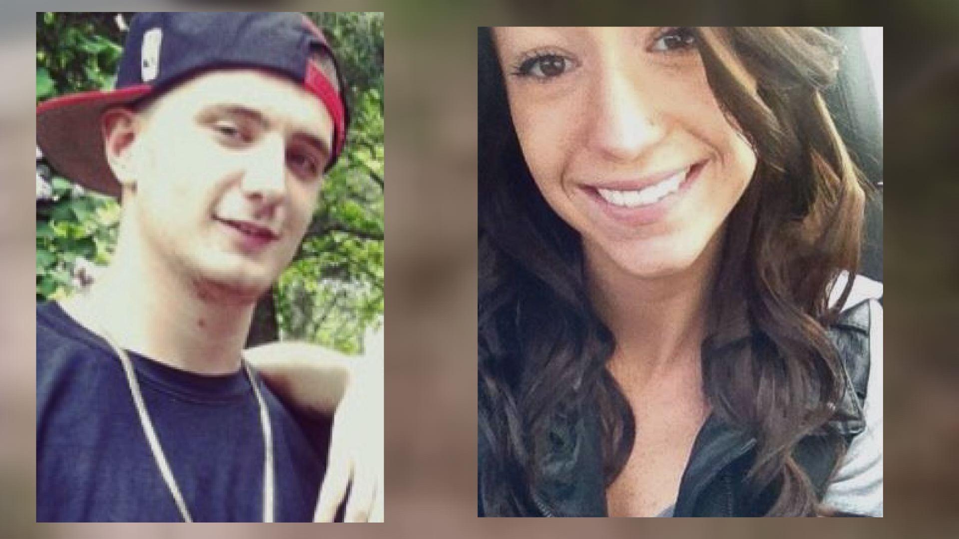 Matthew Szyndlar, 19, and Kerri Rogoz, 20, died in a motorcycle crash in Waterbury early Monday.