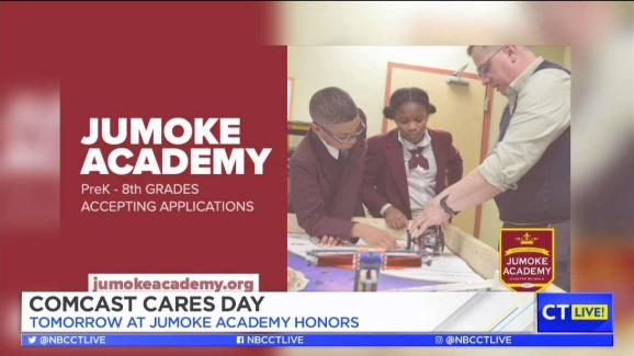 CT LIVE!: Comcast Cares Day at Jumoke Academy