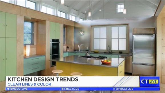 CT LIVE Kitchen Design Trends NBC Connecticut Inspiration Kitchen Design Ct