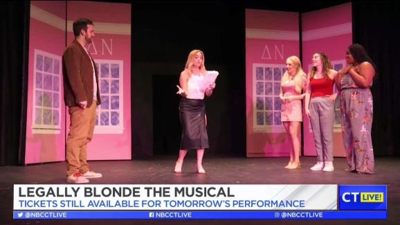 CT LIVE!: Legally Blonde at The White Rabbit Theatre
