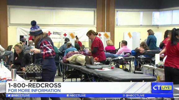 CT LIVE!: NBC CT/Telemundo CT Blood Drive