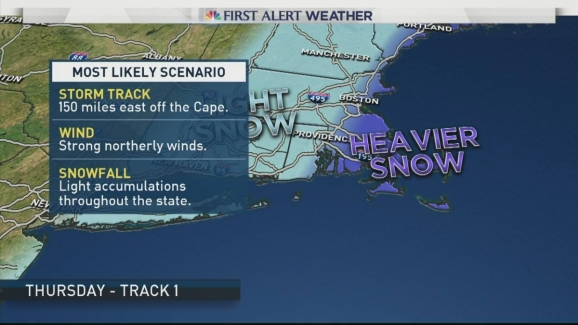 Early Morning Weather Forecast For January 2 Nbc Connecticut