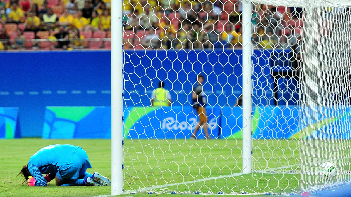 The U.S. women's soccer team was the favorite heading into the Rio Games. But the team returned home without gold. And silver. And even bronze. Not only did they get knocked out early by Sweden, but goalkeeper Hope Solo called the eventual silver medal-winning Swedes