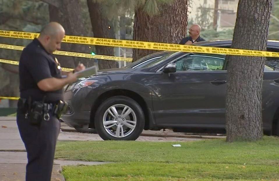 Police investigating after officers shot a man in Los Feliz Friday, June 19, 2015
